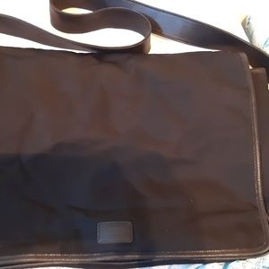 BLACK COACH COMPUTER BAG